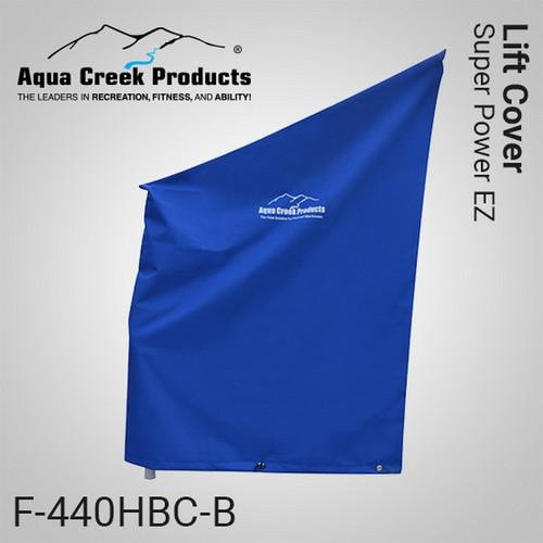 Aqua Creek - Cover for Super Power EZ Lift Premium Fade Resistant Blue