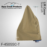 Aqua Creek - Cover for Scout Lift- Works w/Solar Charger - TAN