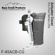 Aqua Creek - Cover for Actuator- Pro Series Lifts - GRAY