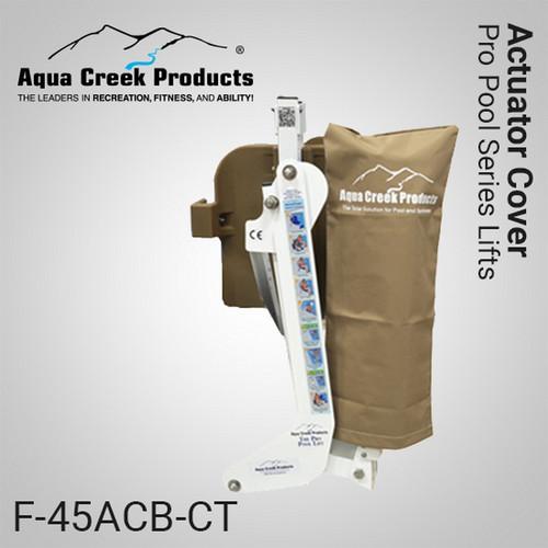 Aqua Creek - Cover for Actuator- Pro Series Lifts - TAN