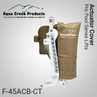Aqua Creek - Cover for Actuator- Pro Series Lifts - TAN