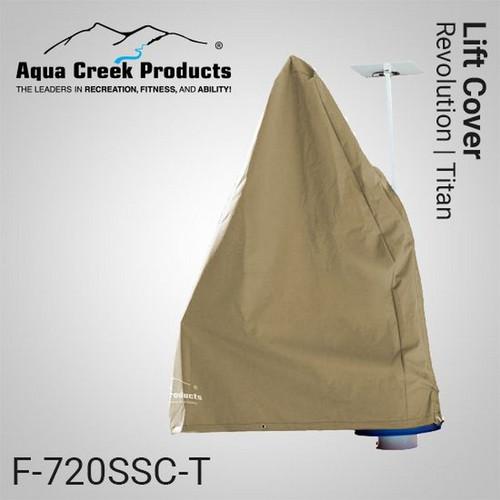 Aqua Creek - Cover for Revolution & Titan Lifts - Works w Solar Charger TAN