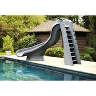 SR Smith - TurboTwister Pool Slide - LeftTurn - Gray Granite