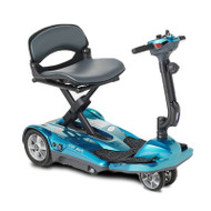 EV Rider - TranSport AF Plus S19AF Auto Fold Mobility Scooter - Sea Blue
