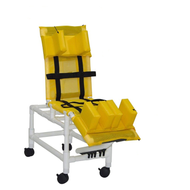 MJM Int. - Small Multi-Pos. Bath Chair - 197-SC-22 - Head Bolster And Leg Extension Support Are Not Included
