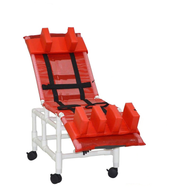 MJM Int. - Med. Multi-Pos. Bath Chair - 197-MC-22 - Head Bolster And Leg Extension Support Pads Are Not Included