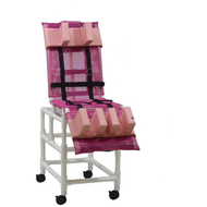 MJM Int. - Large Multi-Pos. Bath Chair - 197-LC-31 - Head Bolster And Leg Extension Support Pad Are Not Included