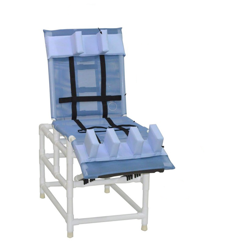 MJM Int. - XL Multi-Pos. Bath Chair - 197-XL-LP-30 - Head Bolster And Leg Extensions Support Pads Are Not Included