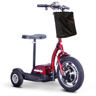 E-Wheels - EW-18 Stand-N-Ride Mobility Scooter - Any Color Unassembled - Red
