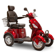 E-Wheels - EW-46 R - Four Wheel Scooter - Red