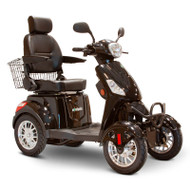 E-Wheels - EW-46 Blk - Four Wheel Scooter - Black