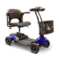 E-Wheels - EW-M35 B Four Wheel Portable Medical Mobility Scooter - BLUE