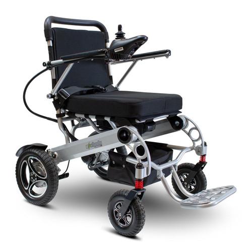 E-Wheels - EW-M43 Folding Power Wheelchair - SILVER