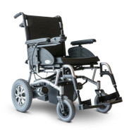 E-Wheels - EW-M47 Heavy Duty Folding Power Wheelchair - SILVER