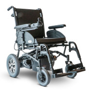 E-Wheels - EW-M47 Heavy Duty Folding Power Wheelchair - BLACK