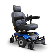 E-Wheels - EW-M48B Power Wheelchair - BLUE