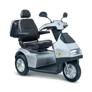 Afiscooter S3 Touring - 3 Wheel Electric Mobility Scooter - Scooter Comes With Single Seat, Standard Wheels, And Canopy