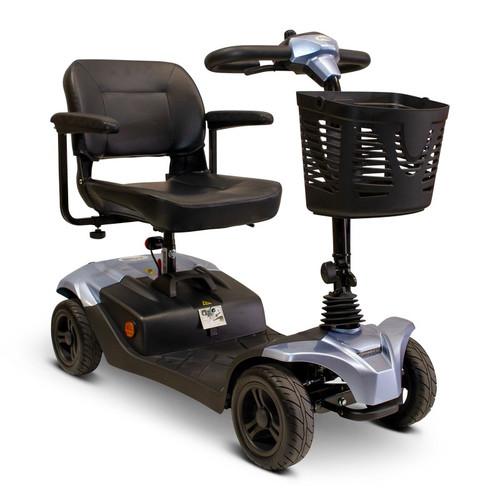 E-Wheels - EW-M41 B Four Wheel Medical Mobility Scooter - Blue
