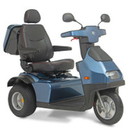Afiscooter S3 AT - 3 Wheel Electric Mobility Scooter - Model Comes With Single Seat And Golf (All Terrain) Tires