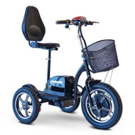 E-Wheels - EW-Big Wheels 3 Wheel Scooter - Black