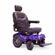 E-Wheels - EW-M51B Heavy Duty Power Chair - Blue