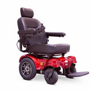 E-Wheels - EW-M51R Heavy Duty Power Chair - Red