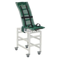MJM Intl - LG Articulating Bath Chair w/Base Ext. And Total Lock Casters - 191-LC-A-B-3TL