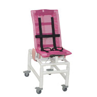 MJM Intl - MED Articulating Bath Chair w/Base Ext. And Total Lock Casters - 191-MC-A-3TL
