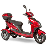 E-Wheels - EW-10 Sport 3-Wheel Mobility Scooter - Red