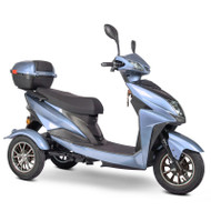 E-Wheels - EW-10 Sport 3-Wheel Mobility Scooter - Blue