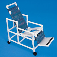 Healthline - Reclineez Shower Chair W/6 Positions, 300 Weight Cap. - REC1000
