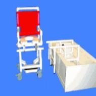 Healthline - Shower Commode Transfer Chair Slider - TRANSLIDER