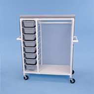 Healthline - Clothing Cart w/8 Pull Out Drawers - GDC488W5