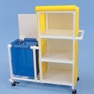Healthline - Linen Cart-Hamper Combo - LHLC18243W3