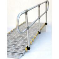 Roll-A-Ramp - Aluminum Handrails - Loop Ends