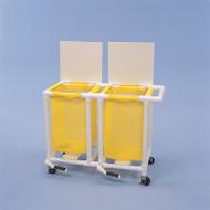 Healthline - 2 Mesh Bag Linen Hamper /Foot Pedal - LH142FW3