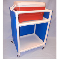 Healthline - Economy Refreshment Cart, Ice Cart - IC48W3E