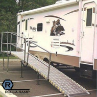 Roll-A-Ramp - Portable RV & Camper System, Travel Trailer/5th Wheel - RV#1