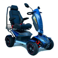 EV Rider - Vita Monster - S12X Electric Mobility Scooter - Sapphire Blue