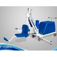 Aqua Creek - Lift, Mighty Voyager, 325 lb Cap (Sand Not Included), ADA Comp./UL Cert., White/Blue - F-VGRPL