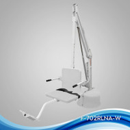 Aqua Creek - Lift, Revolution w/Spa Arm, 500 lb Cap, No Anchor, UL/ADA Compliant, White w/White Seat - F-702RLNA-SPA-W