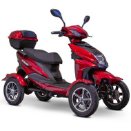 E-Wheels - 4 Wheel Sport Style Scooter - EW-14 Red