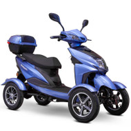 E-Wheels - 4 Wheel Sport Style Scooter - EW-14 Blue