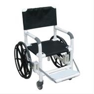"MJM Intl - Echo Non-Magnetic 18"" Internal Width All Purpose Wheelchair w/Mesh Sling Seat, 350 lbs Weight Cap. - E131-18-24W-SL-MRI"