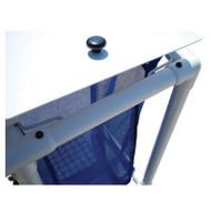 MJM Intl - Replacement Hamper Lid & Cable For 218 Series Hamper - R-218-LID-FP-C