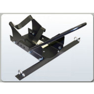 B-Dawg - Silver Wheel Chock - BD-CHOCK-S - Shown in black. Model comes in silver.