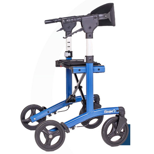 """Escape Rollator - Low, 21"""" seat height (Blue) - 500-10212"""