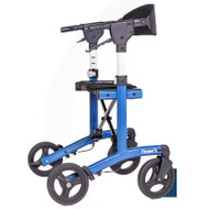 "Escape Rollator - Standard, 24"" seat height (Blue) - 500-10242"
