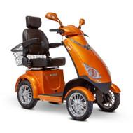 E-Wheels - EW-72O Four Wheel Electric Mobility Scooter - Orange
