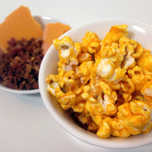 bacon cheddar gourmet popcorn